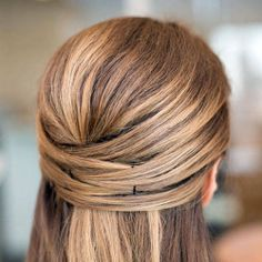 Weaved Straight Hairstyle