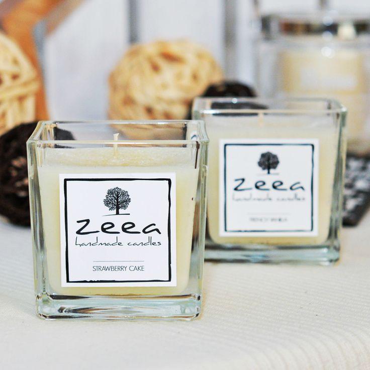 Świeca zapachowa z kolekcji CLASSIC o zapachu STRAWBERRY CAKE.