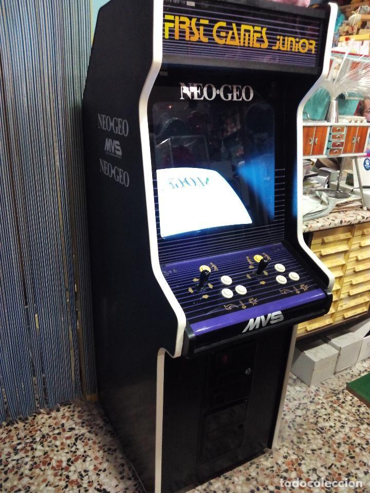 Antigua Máquina recreativa Original Neo-Geo (Años 80) ¡¡Funcionando!!