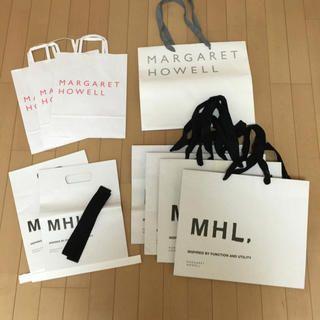 MARGARET HOWELL(マーガレットハウエル)のMHLショッパー レディースファッションのバッグ(ショップ袋)の商品写真