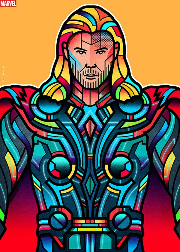 Marvel • Official Art Showcase on Character Design Served