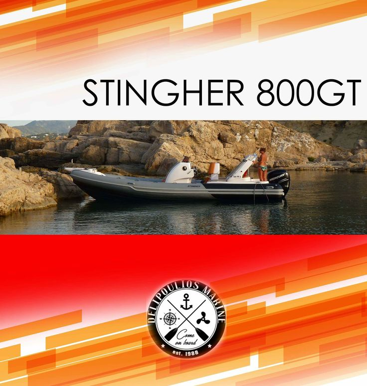 STINGHER 800GT  The Stingher 800GT is our best selling model, loved by our customers and the marine press. It is a seaworthy boat that offers comfortable journey and safety of the crew. Certainly the quality STINGHER follows and this wonderful model.  contact: charismerkatis@gmail.com www.charismerkatis.com
