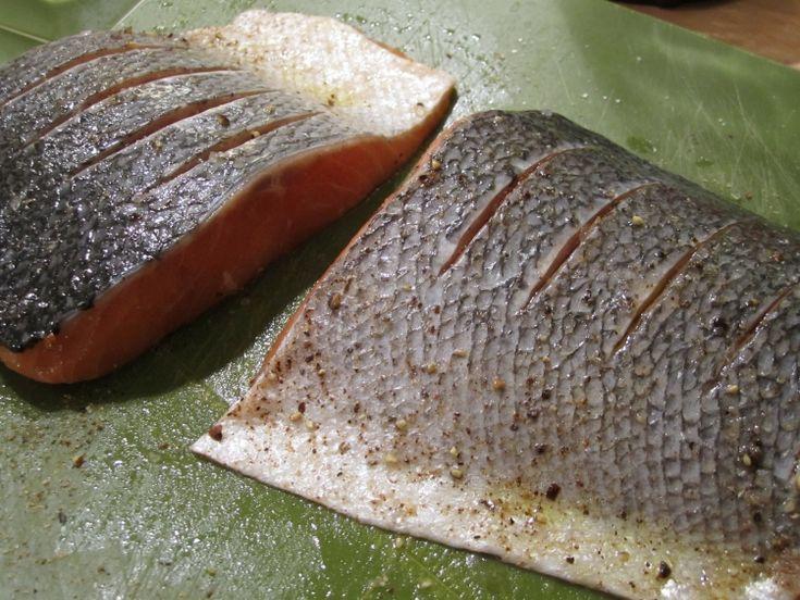 Jamie Oliver's 30 Minute Meal Crispy Salmon