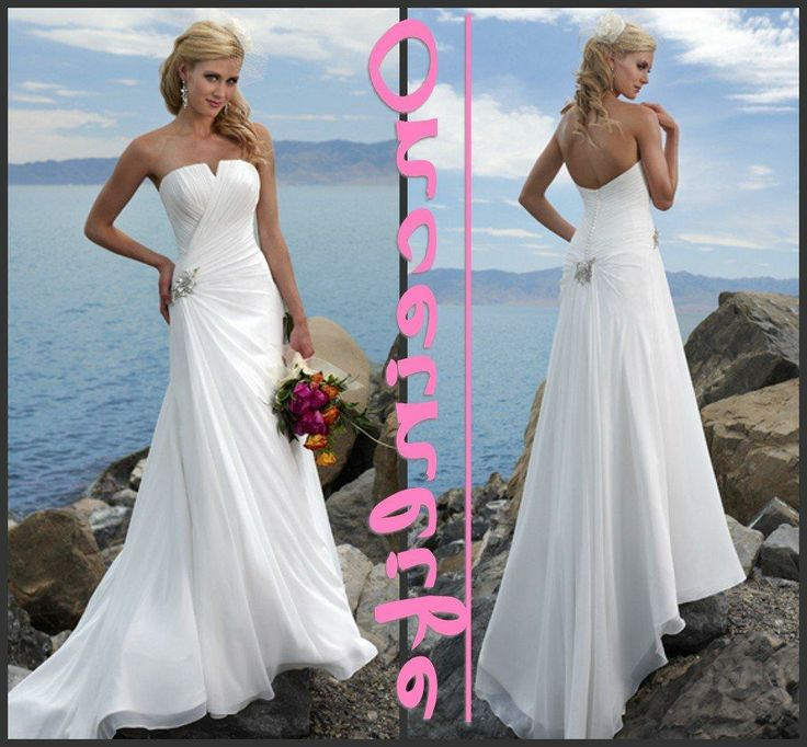 33 best images about wedding dresses on pinterest for Buy beach wedding dress