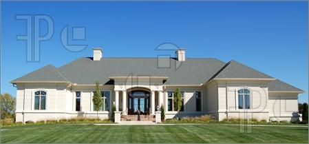 ranch style one story homes | ... Mediterranean villa. One story house plans are also ranch style homes