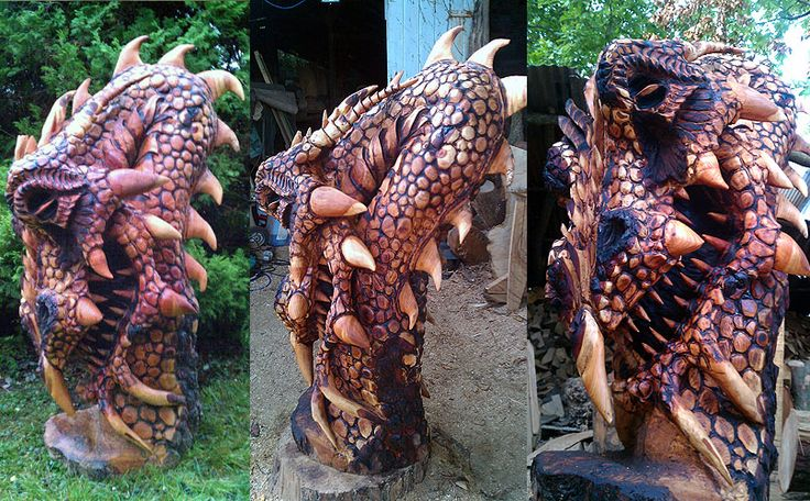 Best chainsaw sculpture images on pinterest carved