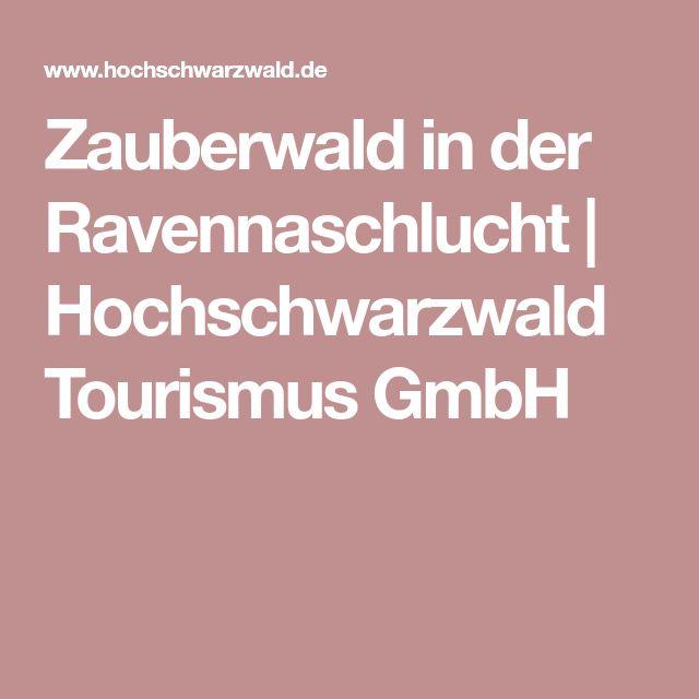 Zauberwald in der Ravennaschlucht   Hochschwarzwald Tourismus GmbH