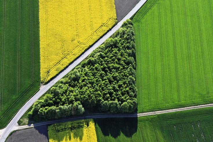 Green triangle by Klaus Leidorf on 500px