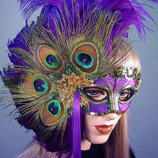 Mardi Gras Masks — Gypsy Renaissance - Handmade masquerade masks ...