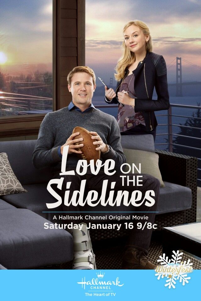 Love on the Sidelines - Laurel is a struggling fashion designer who finds herself with a job as a personal assistant for Danny, a quarterback sidelined with an injury. Laurel knows nothing about football and Danny hasn't ever had a female assistant.  Starring Emily Kinney and John Reardon