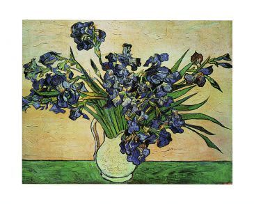 Reprodukce - Impresionismus - Iris Strauss, 1890, Vincent van Gogh