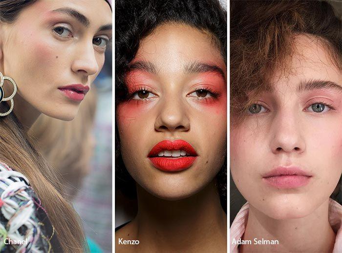 Spring/ Summer 2017 Makeup Trends: '80s Makeup/ Blush Draping