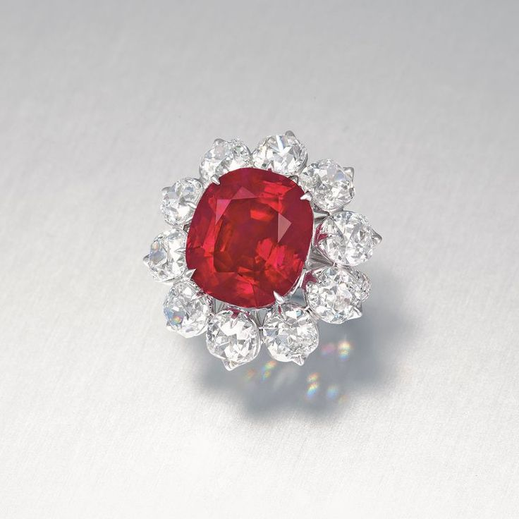 Christies Hong Kong sells the Crimson Flame Ruby for US$18 million, setting a new world record price per carat for a ruby of US$1.2 million.