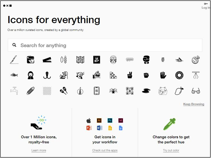 FREE TOOL: Free Icons with The Noun Project - When creating your website or blog, sometimes you just need a few icons to jazz up your information pages. Well, you're in luck! I found this website called The Noun Project that has over a million free icons! The icons are really cool!  #EtsyToShopify #FreeBusinessTools