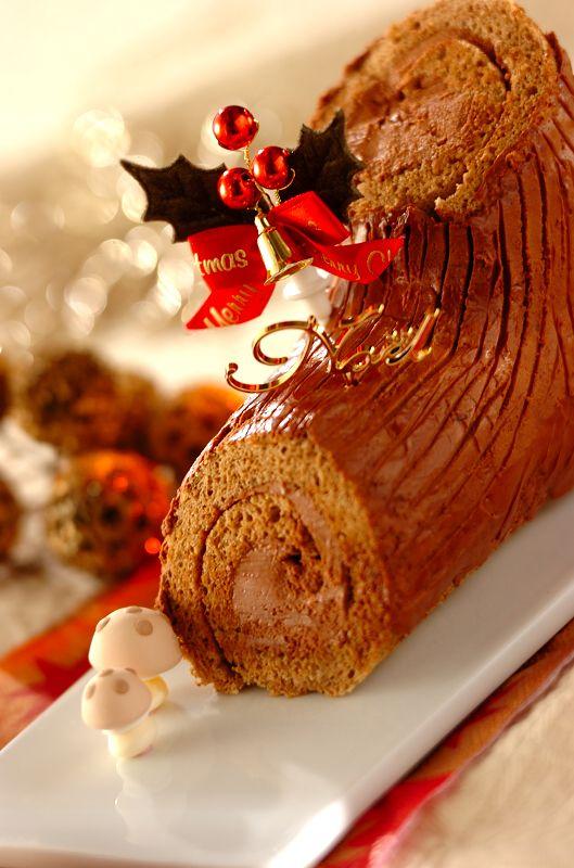 #ブッシュドノエル #recipe #クリスマス #cake