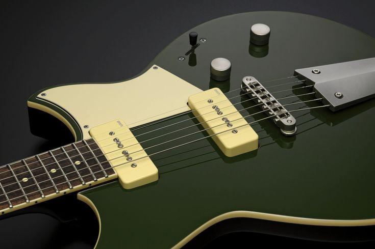 Yamaha Revstar electric guitar design detail