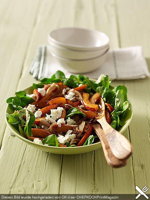 Feldsalat mit gebratenem Kürbis, ein schmackhaftes Rezept aus der Kategorie Gemüse. Bewertungen: 41. Durchschnitt: Ø 4,4.