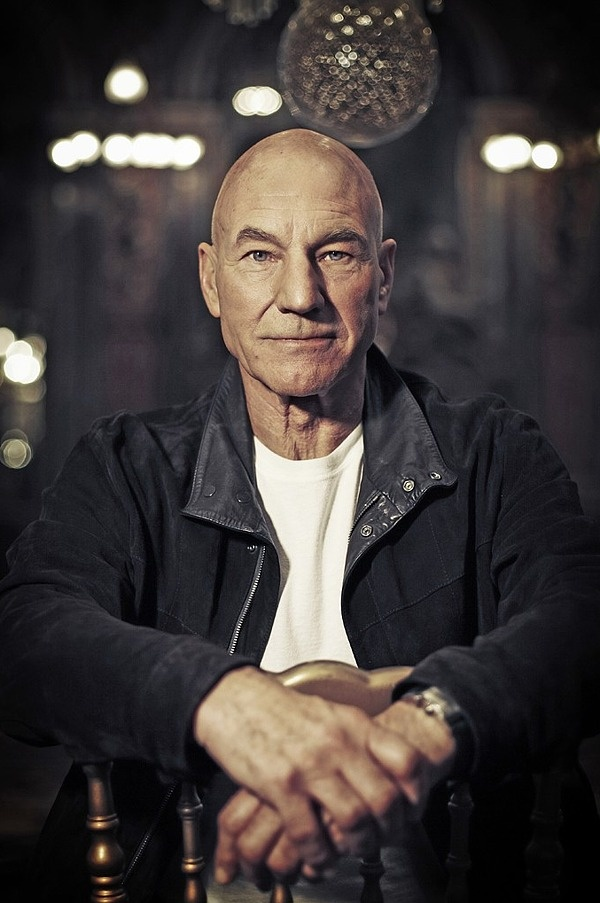 """Violence is never, ever a choice that a man should make. Ever."" — Patrick Stewart"