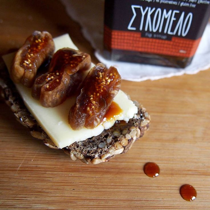 Fig honey (Sikomelo) for a healthy breakfast wherever you are! #ThermaeSylla #OrganicProducts #Health