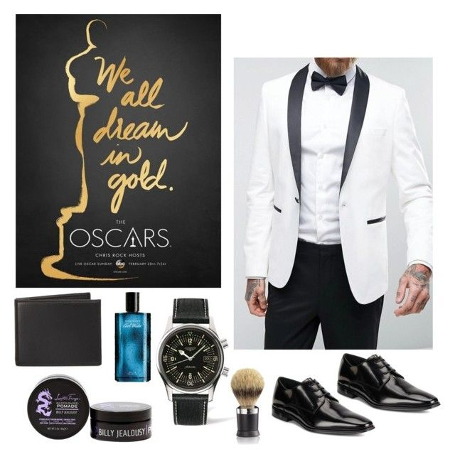 """On The Red Carpet #13"" by ashleym12317 on Polyvore featuring ASOS, Versace, Longines, The Men's Store, Billy Jealousy, Davidoff, La Mer, men's fashion and menswear"