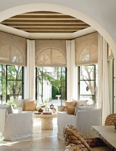Richard Hallberg Interior designer and architect William Hablinski designed this exotic and stunning Moorish-inspired home in the desert of Southern California.