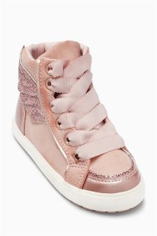 Winged High Tops (Younger Girls)