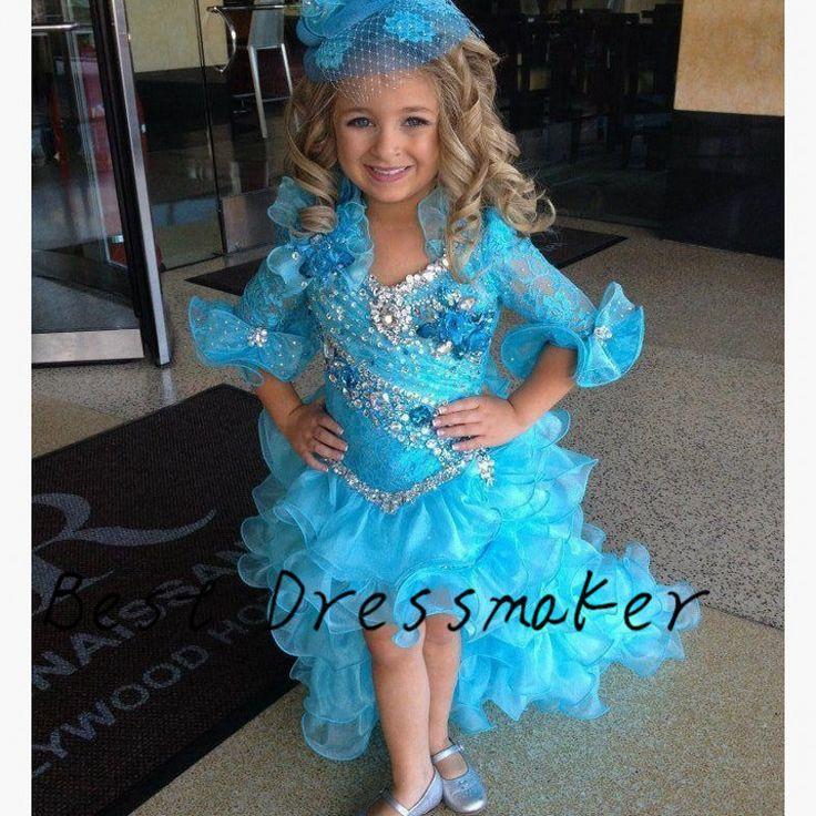 Во-первых Cummunion платья для девочек девочка театрализованного платья 2016 костюмированное шоу платье цветы платья рюшами поезд индивидуальные