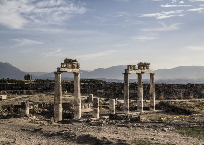 Greco-Roman ruins, the old library