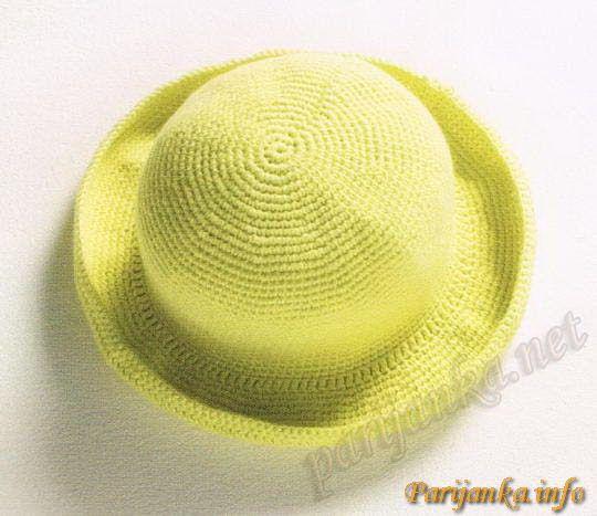 Шляпа крючком (д) 30*12 CB №1585