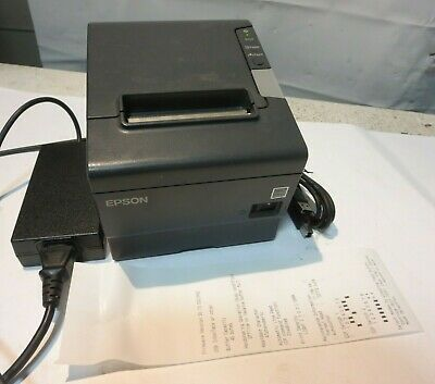 Epson Tm T88v M244a Usb Thermal Receipt Printer W Ps 180 Power Supply Print In 2020 Usb Shipping Label Printer Printer