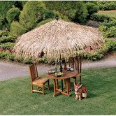 Found it at Wayfair - Tropical Thatch Umbrella Cover