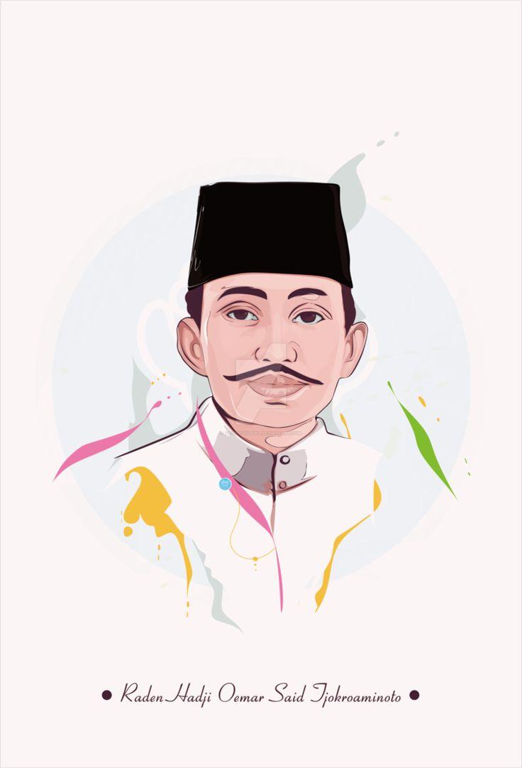 Raden Hadji Oemar Said Tjokroaminoto by fauzyedugawa