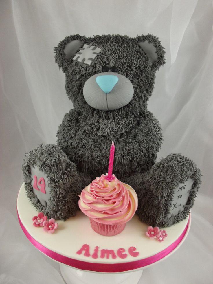 Me To You Bear birthday cake