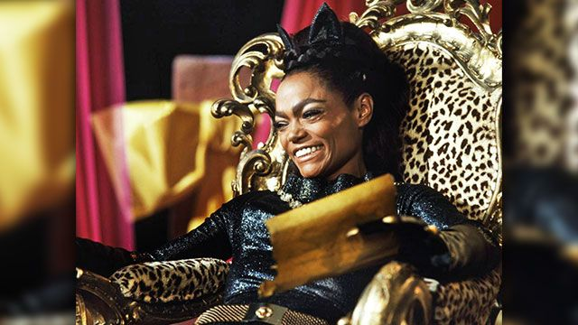 Eartha Kitt. With original Catwoman Julie Newmar unavailable to return to the '60s Batman TV series, a feisty Eartha Kitt was cast in the role for the third season, and boy, could she hiss and purr. Literally. She'd roll her r's almost every other line, bat men around with her sharp claws -- and then verbally pounce in that incredibly tight catsuit. Meow!
