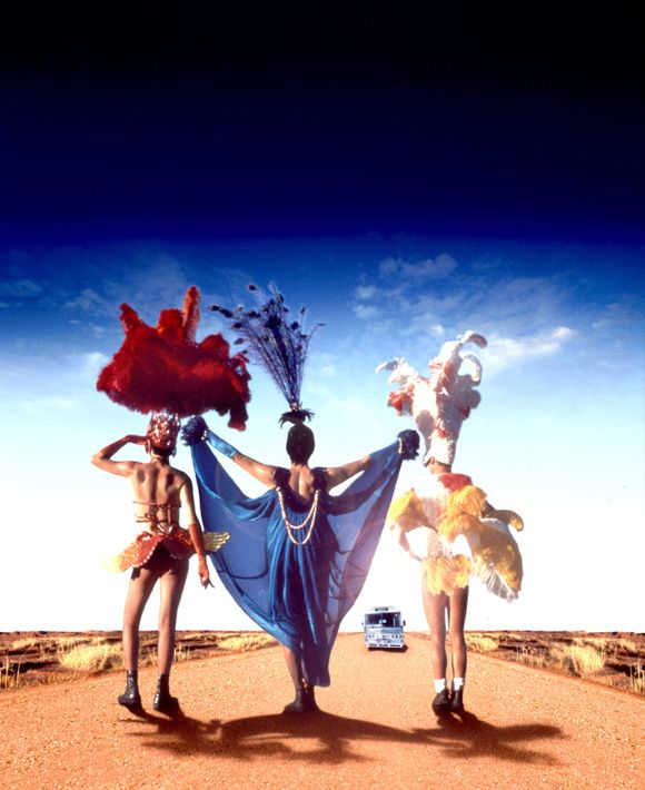 Priscilla, Queen of the Desert - utter camp fest and fabulous!