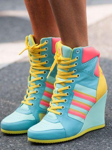 Fashion's World Capital: Adidas shoes
