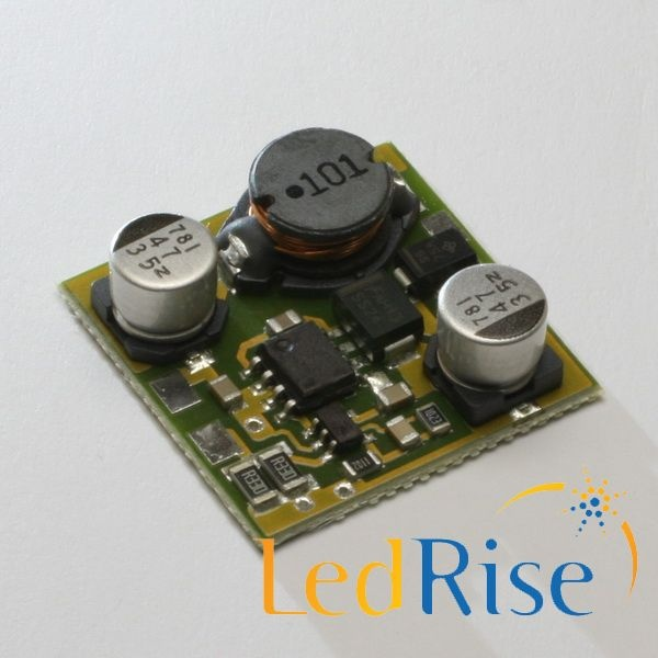 1400mA driver for one Cree XM-L at low voltage. Voltage range X to 35V where X is at least: X=7V/9V/14V/24V/34V for LED:1/2/3/4/5   11.9€