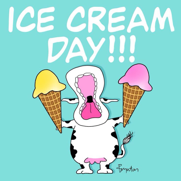 Sandra Boynton: It's important to have something you're fully committed to. Happy Ice Cream Day!