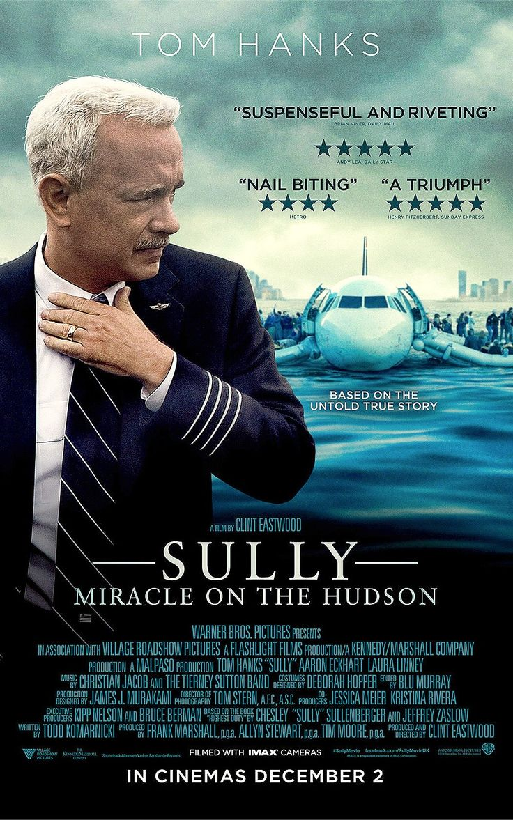 Чудо на Гудзоне (Sully)  2016 /драма (Том Хэнкс)