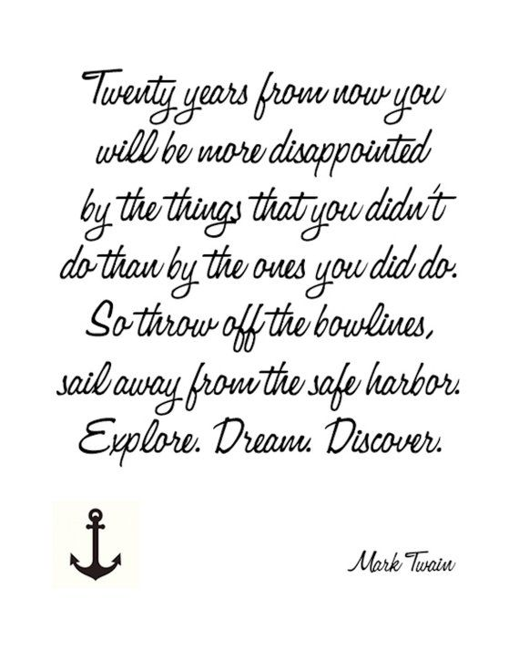 Mark Twain Quote Instant Download Print Products Pinterest Unique Drifting Apart Picture Quotes Download