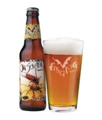 Flying Dog -  Old Scratch Amber Lager - so refreshing, especially in the summer
