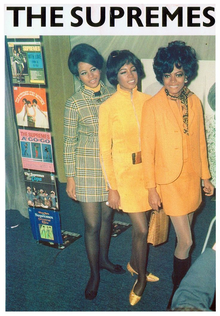The Supremes Cindy Birdsong , Mary and Diane.