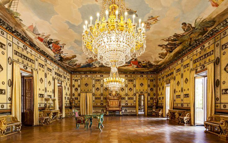Ballroom of Casa del Labrador en el Jardín del Príncipe de Aranjuez | Patrimonio Nacional , Spain