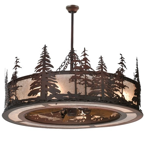 """44"""" Wide Tall Pines Chandel-Air - #108302 - $3511.80"""