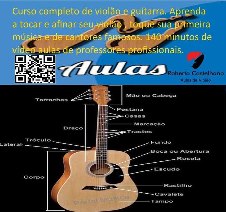 Aprenda a Tocar Violão e Guitarra