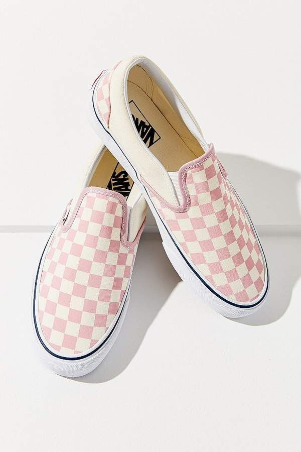53335116c31 Vans Pink Checkerboard Slip-On Sneaker  Urban Outfitters  ShopStyle   MyShopStyle click link for more information