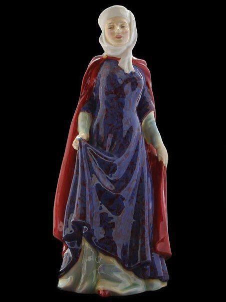 ROYAL DOULTON Фарфоровая статуэтка Леди Анна Невилл 1950-е