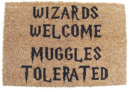 Harry Potter Inspired Wizards Welcome Muggles Tolerated Welcome