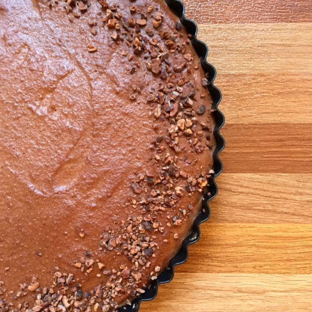 Raw Chocolate Ganache Tart - Move Fuel Love