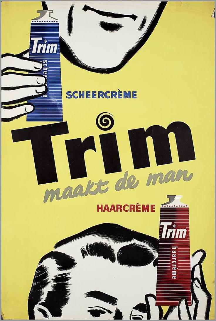 Trim scheercreme scheercremeTrim maakt de man. HaarcremeTrim haarcreme